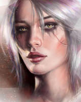 Ciri by aynnart