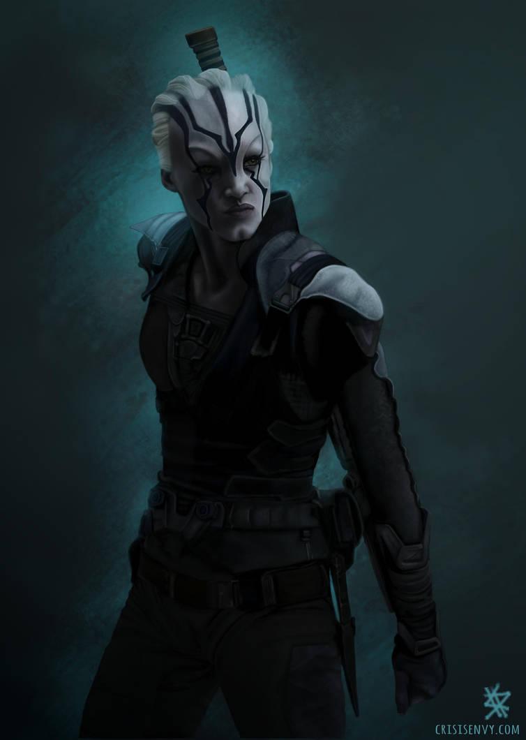 Star Trek Beyond - Jaylah by CrisisEnvy