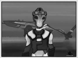 Kallo, Space Pilot by CrisisEnvy
