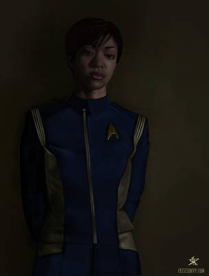 Lieutenant Commander Michael Burnham by CrisisEnvy