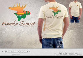 Eureka Sunset Logo by FullcolorCreative