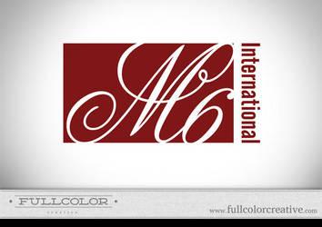 M6 International Logo by FullcolorCreative