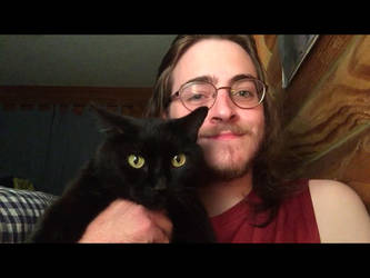 Me And My Cat by MrSmithsonian93
