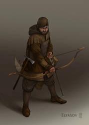 Militia hunter by ShumElkin