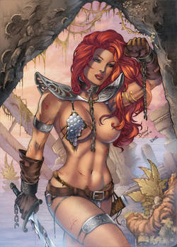 Red Sonja by FlashColorist