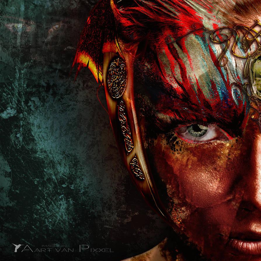 Dark Elf by Aart-van-Pixxel