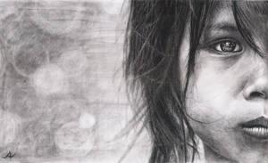 A child by Leuseni
