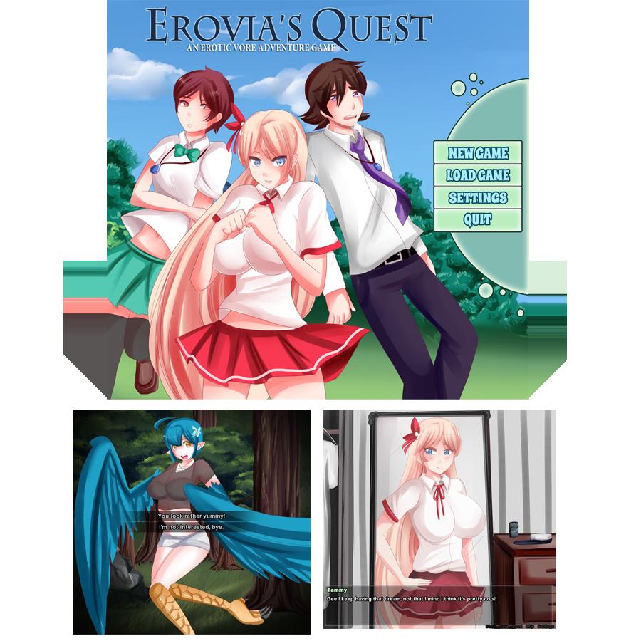 Erovia's Quest [Vore] by SaintxTail on DeviantArt  Erovia's Qu...