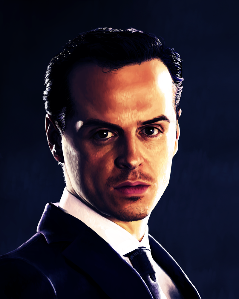 12 Andrew Scott as Jim Moriarty by harbek
