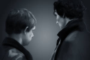 12 John and Sherlock by harbek