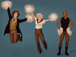 12 Go Team TARDIS! by harbek