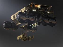 Heavy Air Transport by steve-burg