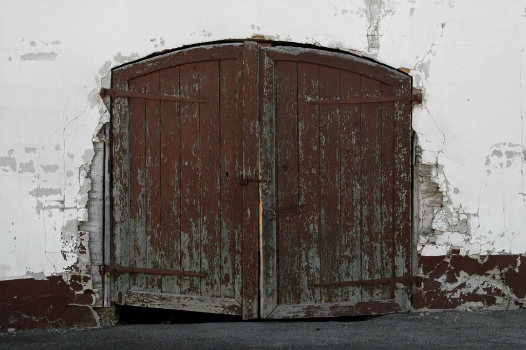 Old Barn Doors By Blokkstox