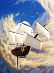 Ship in the sky by secrethaven