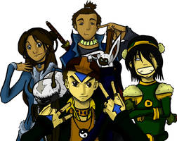 Team Avatar by Jey09