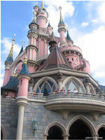 Sleeping Beauty's Castle by ancelique