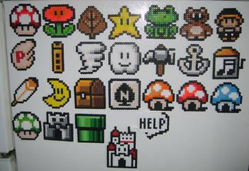 SMB3 Icons by ShampooTeacher