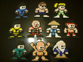 8-Bit Mortal Kombat by ShampooTeacher