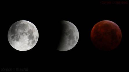 lunar eclipse 2019 01 21 by Attila-G