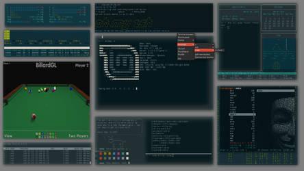 Linux Desktop by blindingraven