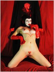 Devilish Oni by ArtemisAesthetic