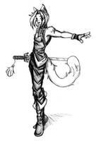 Juriasu In Battle-Attire.. by Acedes