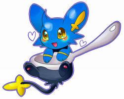 My cute Shinx by TrickU
