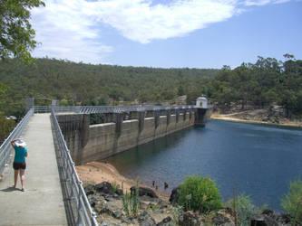 At ye Dam by redcrystal