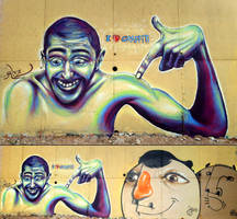 Locos por el Graffiti by koolkiz