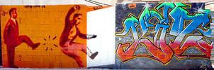 Graffiti en la Ciudad by koolkiz