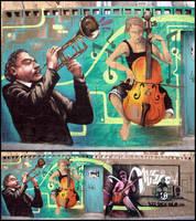 Musica en la Calle by koolkiz