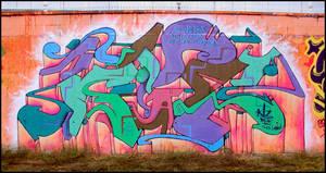 Pintando bajo la Lluvia pt.2 by koolkiz