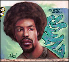 Gil Scott-Heron by koolkiz
