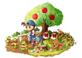Harvest Moon Fanart by F-lin