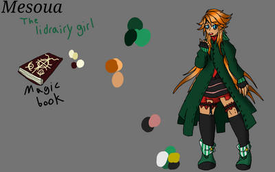 ~ Mesuoa the library  leader~ by foxythepirate290
