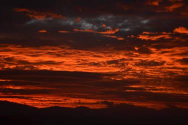 sunrise in dali by heeykiid