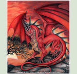 Hunter at Sunset: Red Dragon 2017 Sandra Staple by canadiandragon