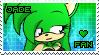 Jade the Hedgehog Stamp by Karmarsi-Kedamoki