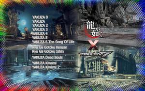 Yakuza OST meets Tekken 7 STAGES Mod by LarsJunFan