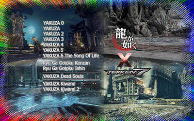 Yakuza OST meets Tekken 7 STAGES Mod by LarsJunFan