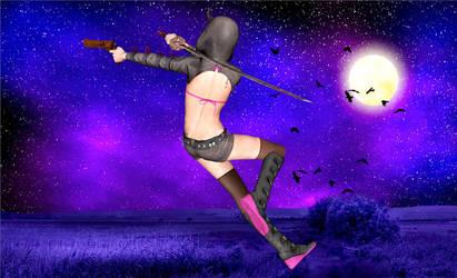 Ninja Rise by LarsJunFan