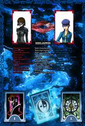 Makoto Niijima And Naoto Shirogane Similarities by LarsJunFan