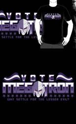 Vote Megatron! (Redbubble) by armageddon