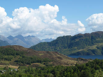 Kintail and Loch Duich by piglet365
