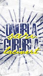 ONURLA SARI GURURLA LACiVERT by Meridiann