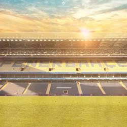 Fenerbahce Sukru Saracoglu Stadyumu by Meridiann