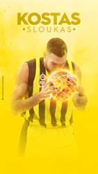 Kostas Sloukas by Meridiann