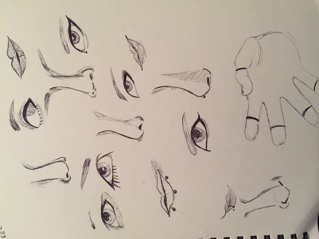 Pen Doodles by MysticNMajesty