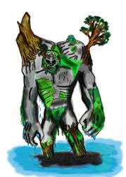 Swamp Troll by Hippy282