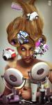 Hair Dresser Nano Bot N.D.N.B by ArtofJacques
